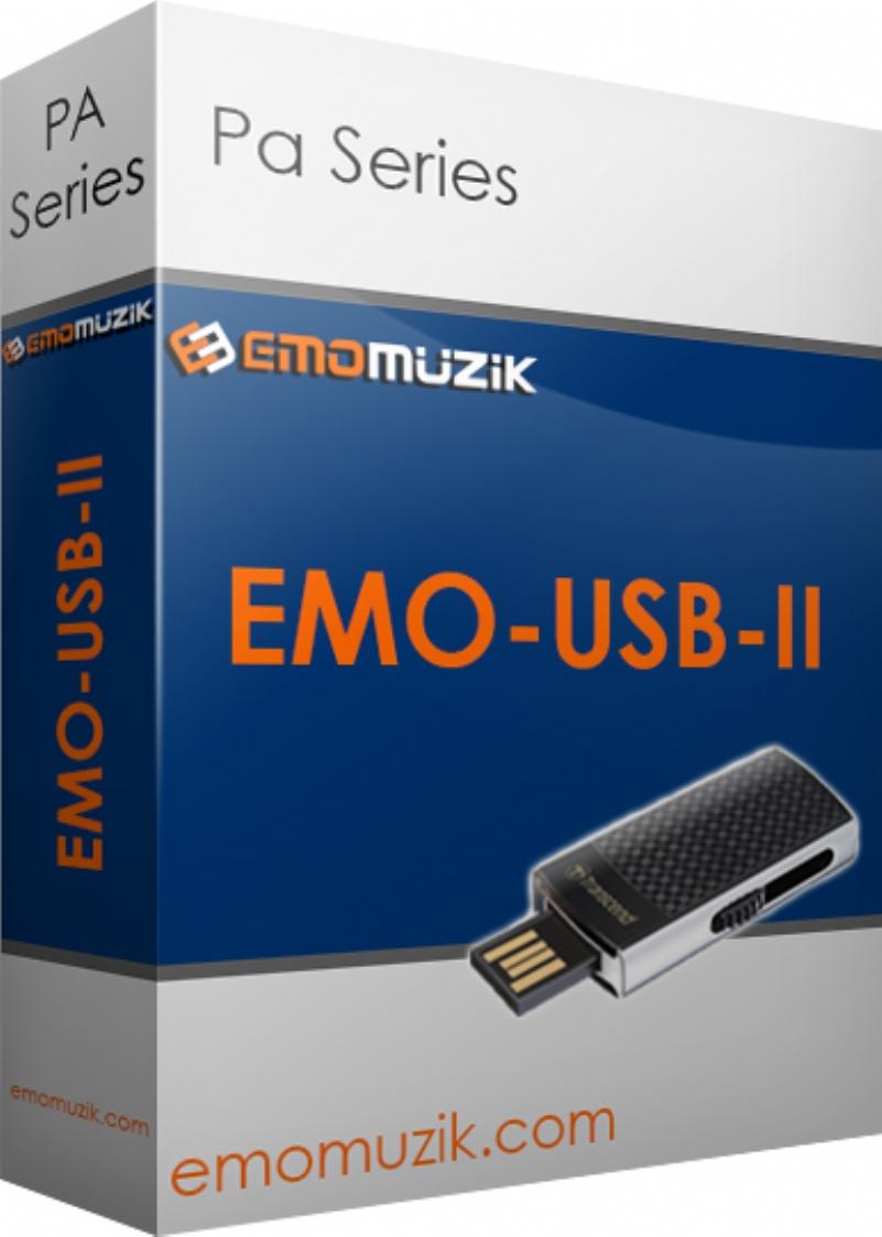 EMO-USB-II PA Serisi